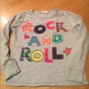 """Mini Boden """"rock and roll"""" shirt"""